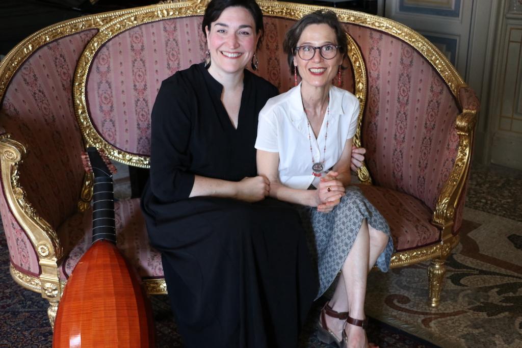 with Cristina Farnetti © Elena Somarè