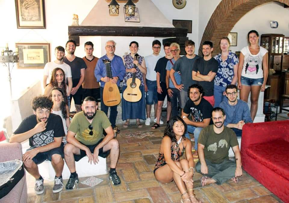 Lute Course, La Pianata, Orte - July 2020